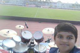 Sarvesh – World record holder in Drums